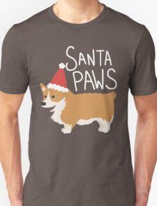 Holiday Corgi - Santa Paws - Puppy Unisex T-Shirt