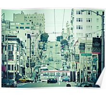 Wondering San Fran Poster