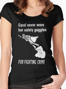 Carol Was a SuperHero Women's Fitted Scoop T-Shirt