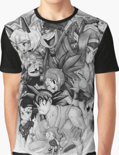 Chibis and Skullgirls Graphic T-Shirt