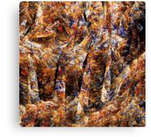Choosing the fall Canvas Print