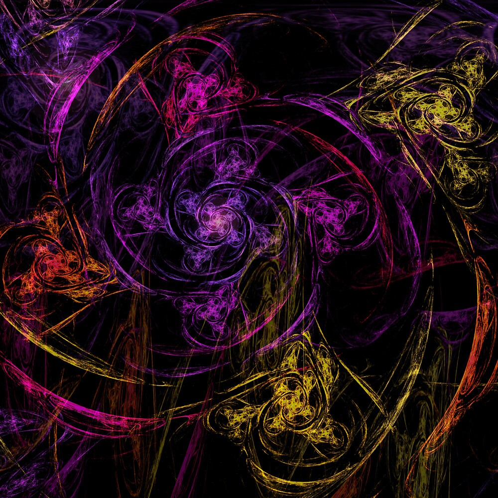 Swirly twirly by Benedikt Amrhein
