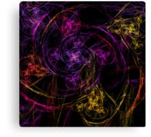 Swirly twirly Canvas Print