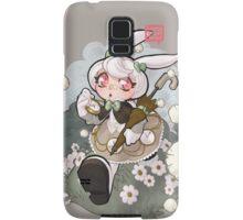white rabbit Samsung Galaxy Case/Skin