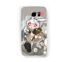 white rabbit Samsung Galaxy Case/Skin