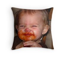 Sketti Throw Pillow