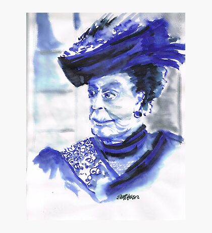 Lady Violet the Dowager Photographic Print