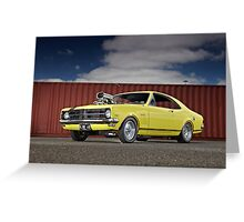 Holden HK GTS Monaro Greeting Card