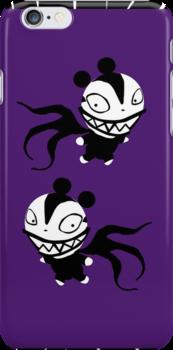 Vampire Teddy Iphone Case by JohnRex