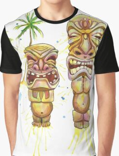 Freaky Tiki Graphic T-Shirt