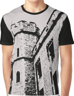 Tower of London Pen and Ink Graphic T-Shirt