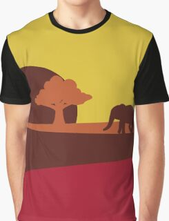 African sunset Graphic T-Shirt