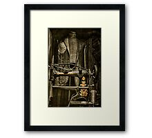 Ode to a Singer...... Framed Print