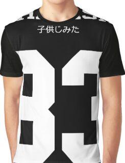 Childish Jersey Graphic T-Shirt