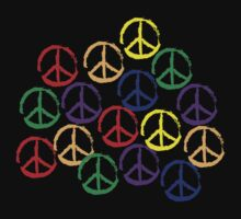 Peace Sign T-Shirt by egrubbs