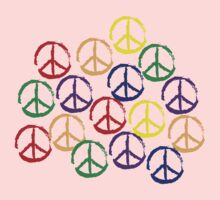 Peace Sign T-Shirt Kids Clothes
