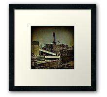 The Sugar Factory Framed Print