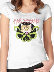Hail Mittens Women's Fitted Scoop T-Shirt