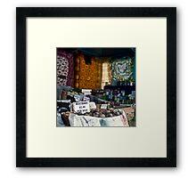 Potato Stall, Farm Gate Market Framed Print