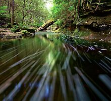 Snug Falls water trails by lee Henley