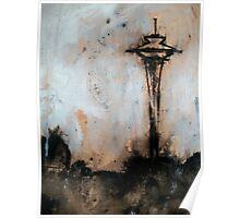 Seattle (Lake Union view) Poster
