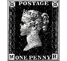 Penny Black Death Photographic Print