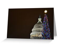 Christmas in DC 2011 Greeting Card
