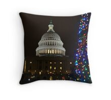 Christmas in DC 2011 II Throw Pillow