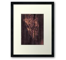 One Idea Corrupts An Evolution Framed Print