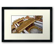 An Imposing Facade Framed Print