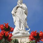 Mother Mary In Red by SlenkDee