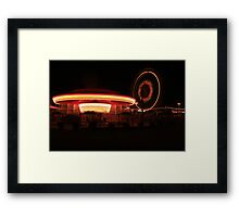 Lights at Night Framed Print