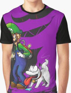 Luigi Pup Graphic T-Shirt