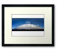 Alto Cumulus Opacus cloud Framed Print