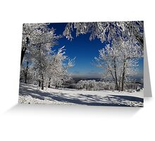Blue Knob Greeting Card