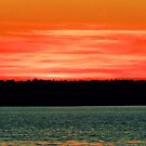 Red Sky At Night by Sharon Woerner