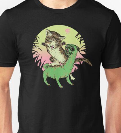 K-Rex & Pugosaurus Unisex T-Shirt