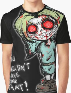 Ben Drowned Dirty Sketch Graphic T-Shirt