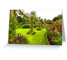Impressions of London – Queen Mary's Garden at Regent's Royal Park Greeting Card