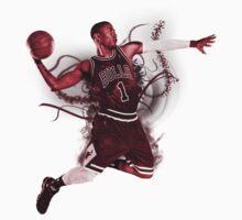 Derrick Rose MVP by Yohann Paranavitana