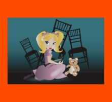 Twisted Tales - Goldilocks Tee and iPhone Case Kids Clothes