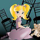 Twisted Tales - Goldilocks Tee and iPhone Case by Lauren Eldridge-Murray
