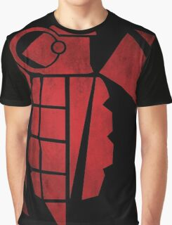 Goonrathi Insignia - Red Graphic T-Shirt