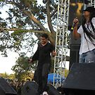 Maxi Priest & His Son by Sandra Gray