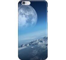 Earth icy ocean aerial view iPhone Case/Skin
