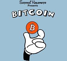Bitcoin T Shirt Hand Holding Coin Unisex T-Shirt