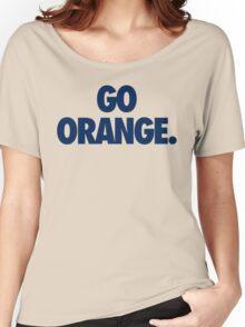 GO ORANGE. - Alternate Women's Relaxed Fit T-Shirt