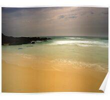 """Beachscape"" ∞ Barragga Bay, NSW - Australia Poster"