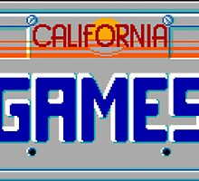 CALIFORNIA GAMES MASTER SYSTEM by srvsl