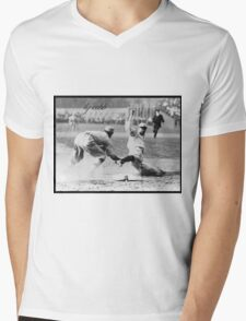 Ty Cobb Mens V-Neck T-Shirt
